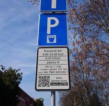 Parkovanie počas Veľkonočných sviatkov je bezplatné
