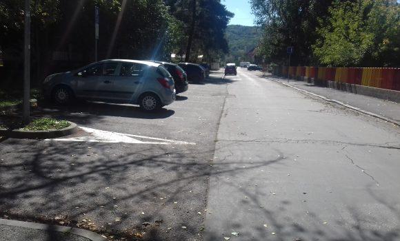 Dočasné obmedzenie parkovania na ulici M. Turkovej