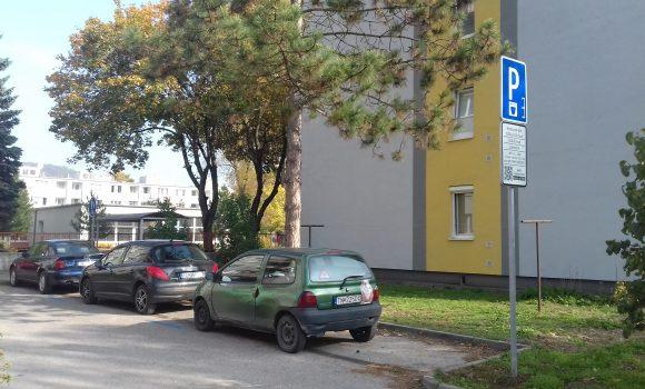 Zmeny v regulovanom parkovaní platia od 15. januára 2018