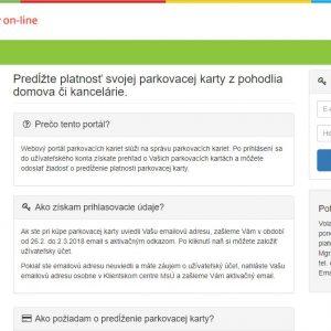 Spravujte si karty online, cez užívateľské konto