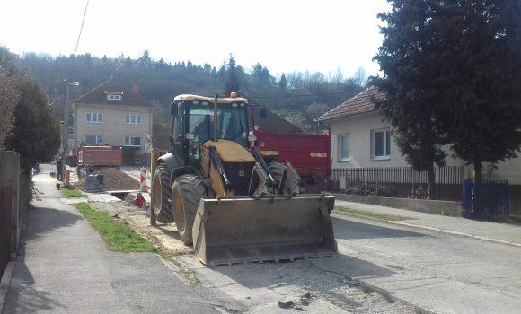 Rekonštrukcia vodovodu obmedzí parkovanie