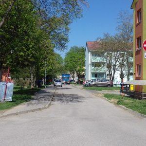 Výstavba parkovísk vmestskej časti Stred