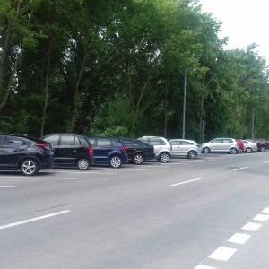 Východná je už vyznačená, parkuje sa aj šikmo