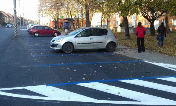 Na Hodžovej ulici pribudli miesta na dlhodobom parkovisku