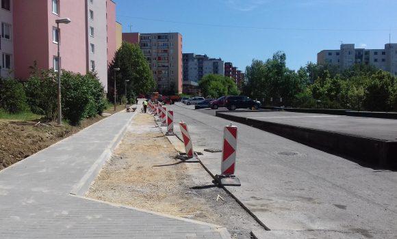 Na ulici gen. Svobodu sa zvýšil počet parkovacích miest