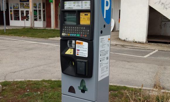 Upozornenie na poruchu parkovacieho automatu
