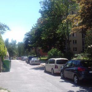 Nové parkovisko na Novomeského ulici