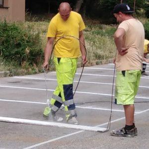 Končí druhá etapa obnovy a vyznačovania parkovísk na Juhu
