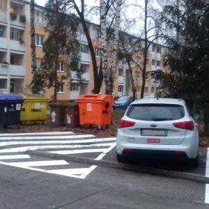 Obnova značenia a nové parkovacie miesta na Turkovej