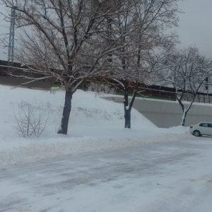 Zimná údržba komunikácií a parkovísk
