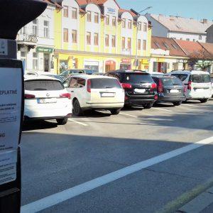 Obdobie dočasne bezplatného parkovania skončí 21. mája