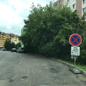 Prípravné práce na reguláciu parkovania na Juhu pokračujú