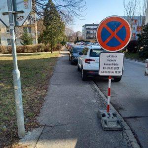 Značenie parkovacích miest na sídlisku Noviny