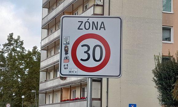 Zóna 30 aj na Juhu aDolnom meste